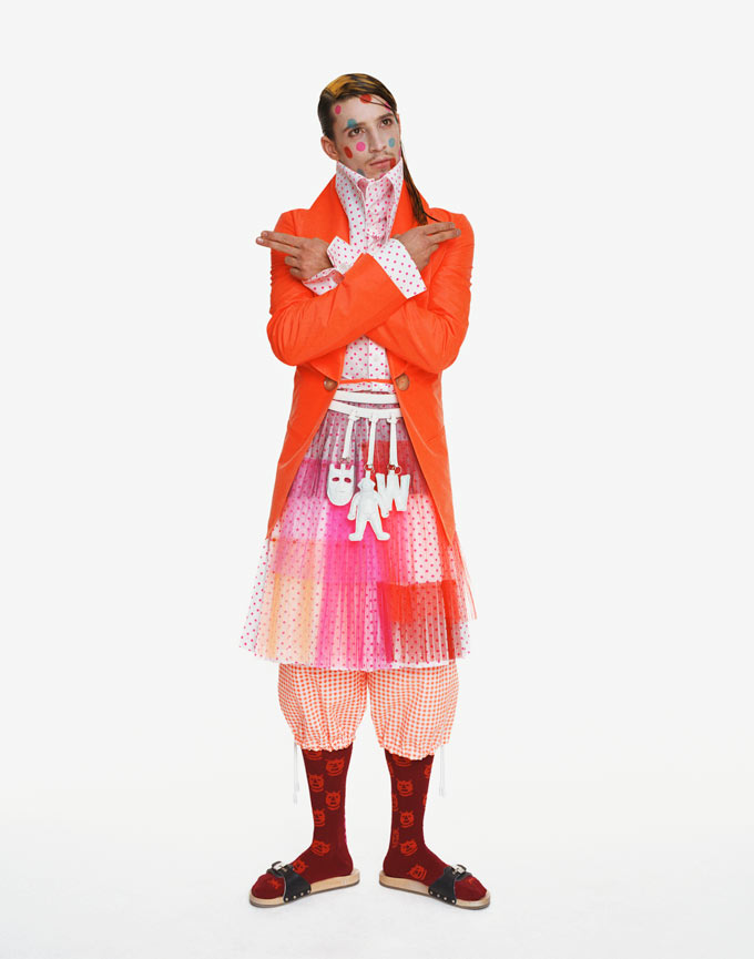 """Aestheticterrorists by Walter van Beirendonck"" Photograph is in the permanent collection of the Metropolitan Museum of Art"